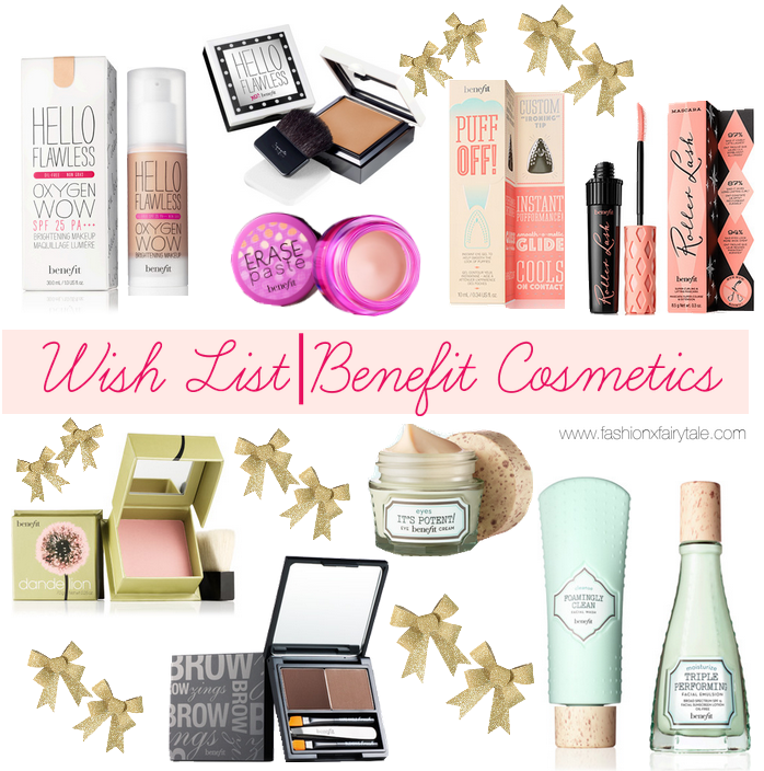 Wish List | Benefit Cosmetics