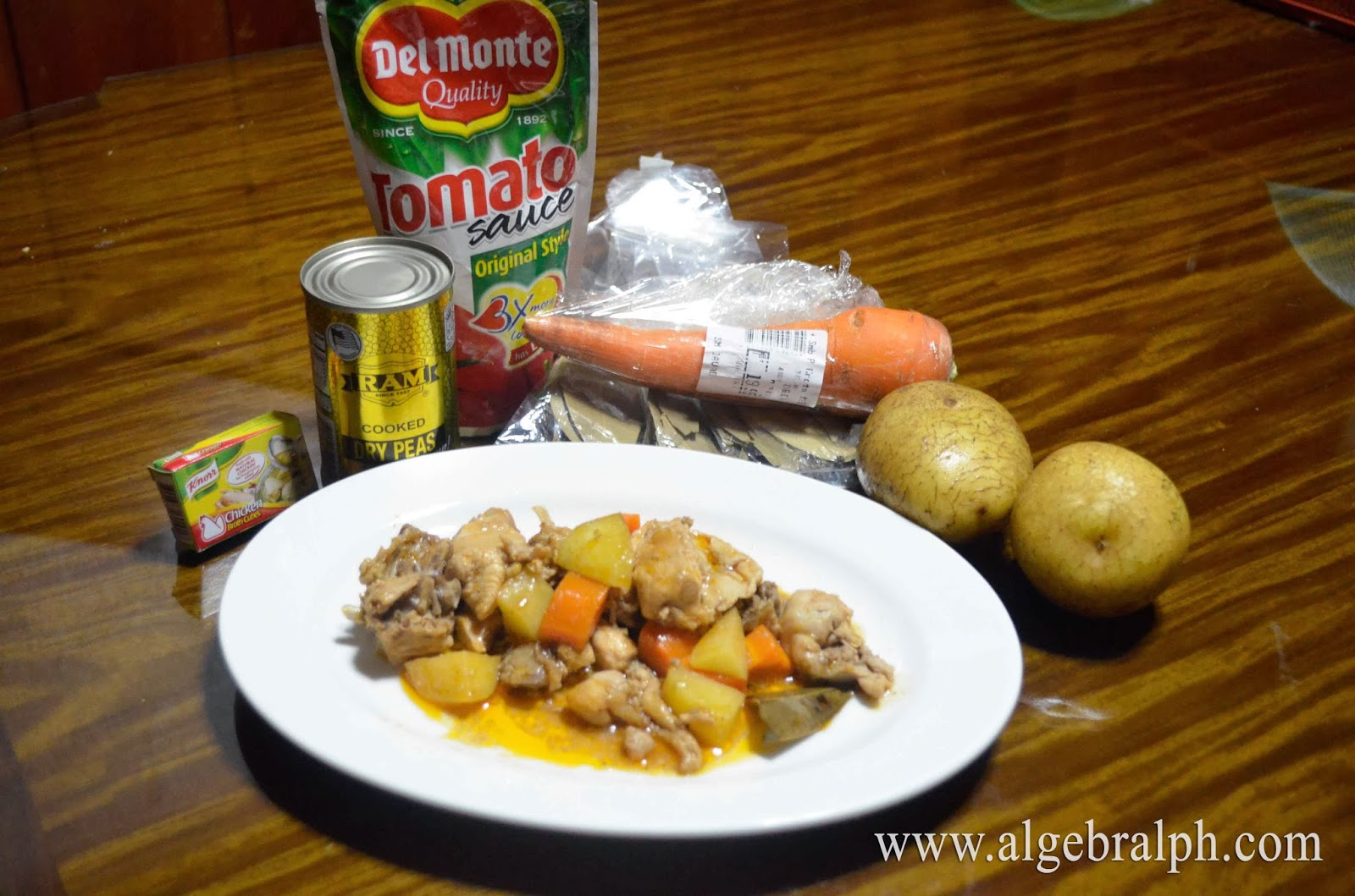 Chicken afritada original pinoy recipe algebralph chicken afritada commonly known as afritadang manok in the philippines is basically a chicken stew is made of several ingredients such as chicken forumfinder Image collections