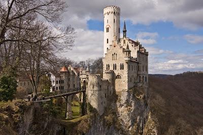 أجمل وأفضل الصور, قلعة ليختنشتاين، بالقرب من ليختنشتاين، في بادن فورتمبيرغ، ألمانيا,