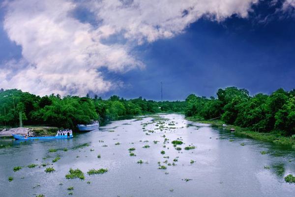 landscape of Narail, Bangladesh