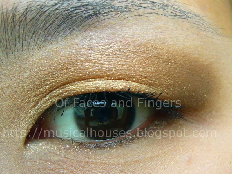 metallic gold eotd