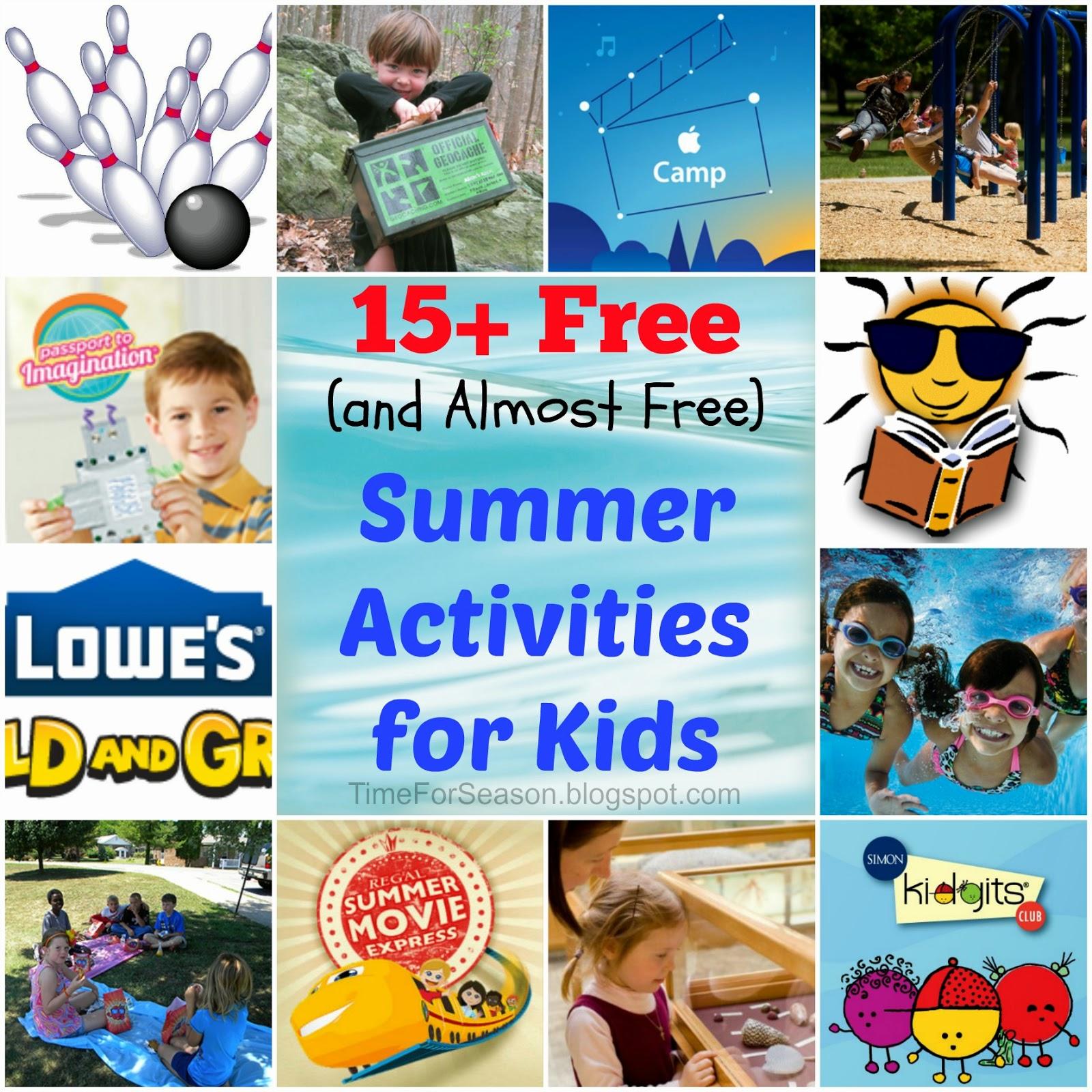 http://timeforseason.blogspot.com/2014/05/15-free-summer-kids-activities.html
