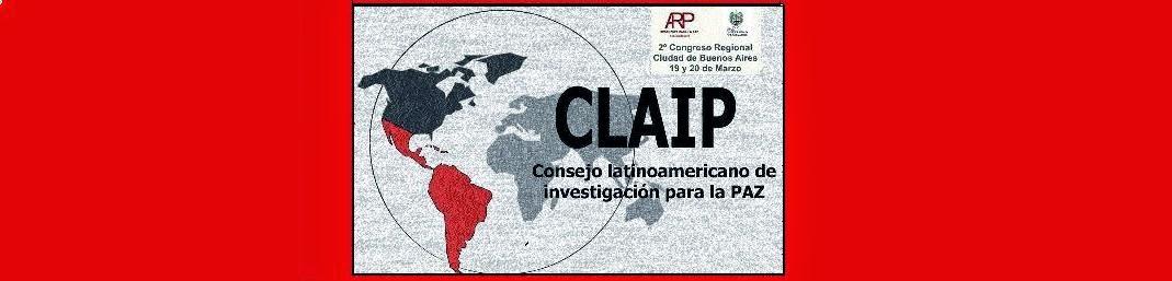 CLAIP Consejo LatinoAmericano de Investigación para la Paz