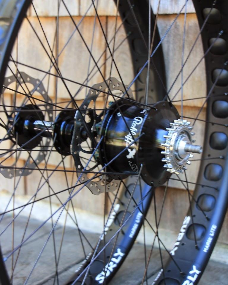 Cycle Monkey Wheel House Fatbike Surly Marge Lite Rims