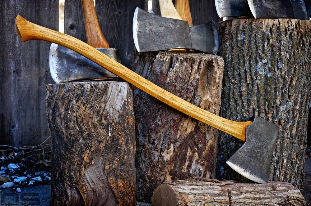 tree felling tools, vintage tools, wood working