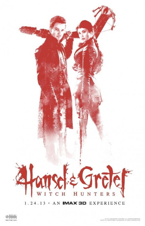 Props: Jeremy Renner and Gemma Arterton costumes from Hansel & Gretel ...