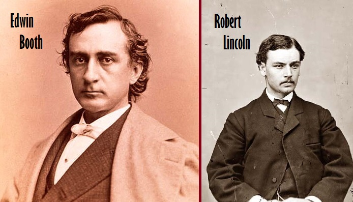 Edwin Booth & Robert Lincoln
