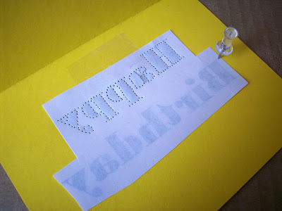 diy pinprick greeting cards