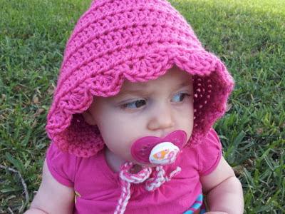 Free pattern for crochet pixie hood hat