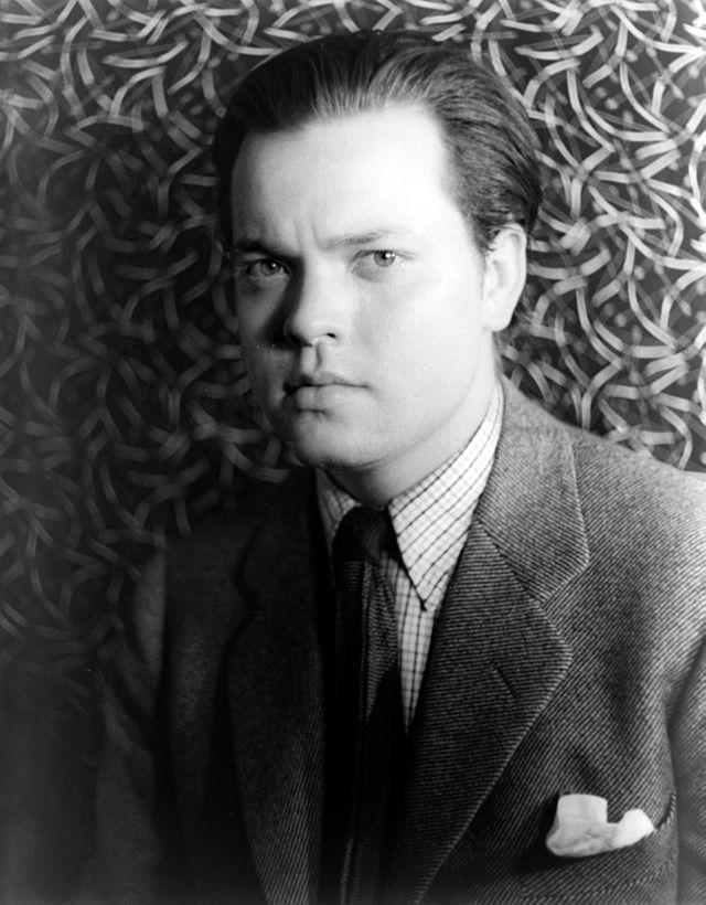 Fotografía de Orson Welles en 1937