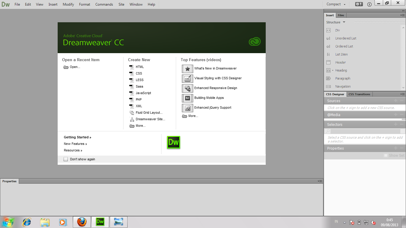 torrent adobe dreamweaver cs3 portable