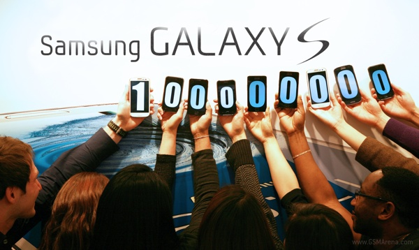 Samsung's Galaxy S series smartphones have crossed the threshold of 100 million sales