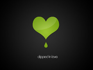 Dipped in Love Love Wallpaper