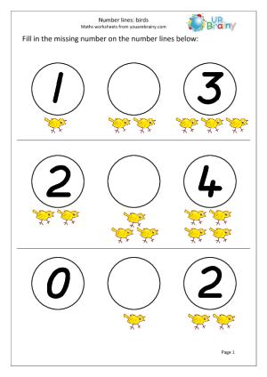 Math worksheet   روضة العلم للاطفال
