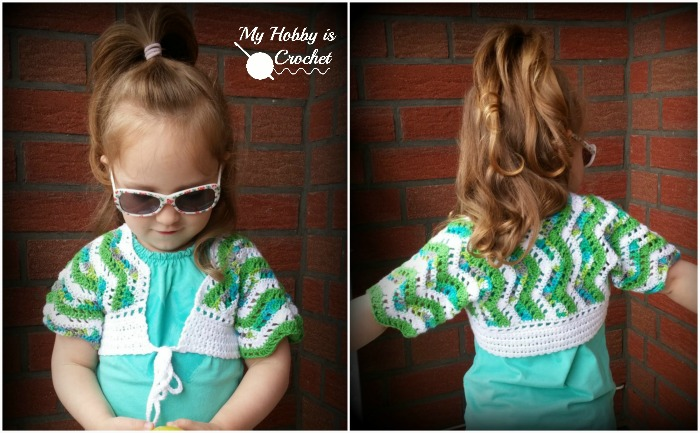 My Hobby Is Crochet: Tropical Waves Bolero | Free Crochet Pattern ...