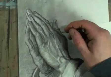 How to Draw Praying Hands Step by Step - Video Lessons of ...