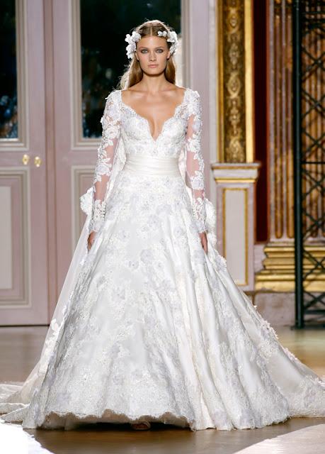 vestido de novia de Zuhair Murad tiene una inspiración romántica de ...