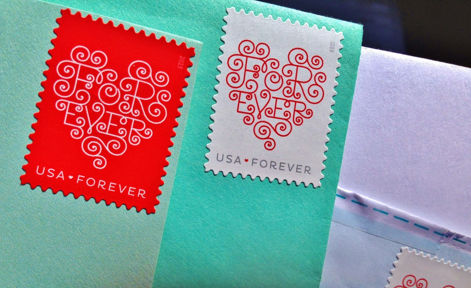 love forever stamps