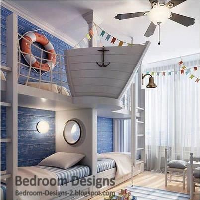 Kids Bedroom Design Ideas , They Take The Ship Interior Design
