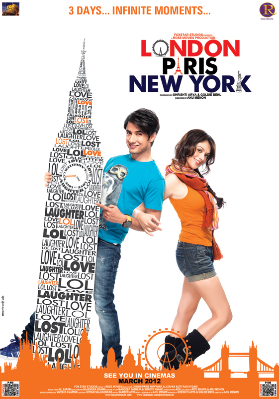London paris new york movie Poster1 - London paris new york movie Posters