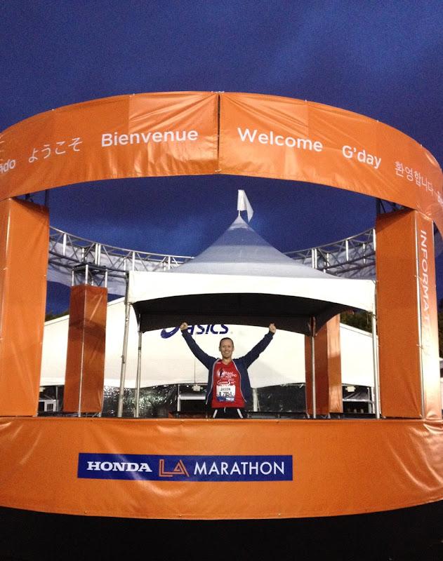 Jason LA Marathon 2012