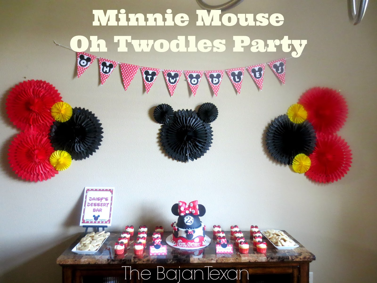 Minnie mouse oh twodles diy birthday party the bajan texan minnie mouse oh twodles diy birthday party amipublicfo Choice Image