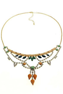 Jewel coronet Necklace