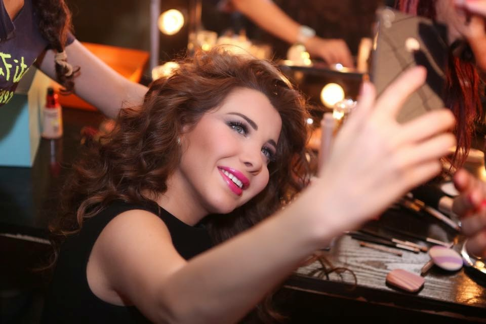 Nancy Ajram Makeup Arab Idol on Arab Idol Nancy Ajram
