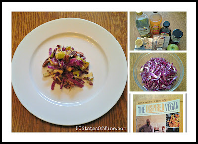 Purple Slaw with Toasted Pecans