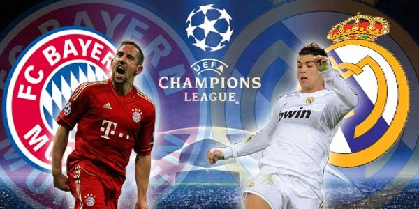 Hasil Pertandingan Leg 2 Bayern Munchen vs Real Madrid 30 April 2014