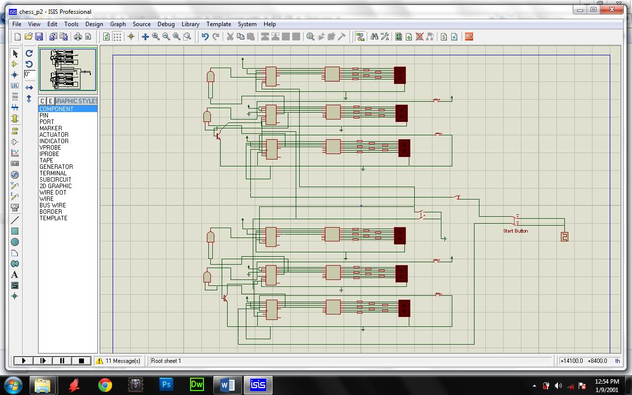 Chess Game Clock Techno Central Crystal Oscillator Circuit Tutorial Blog