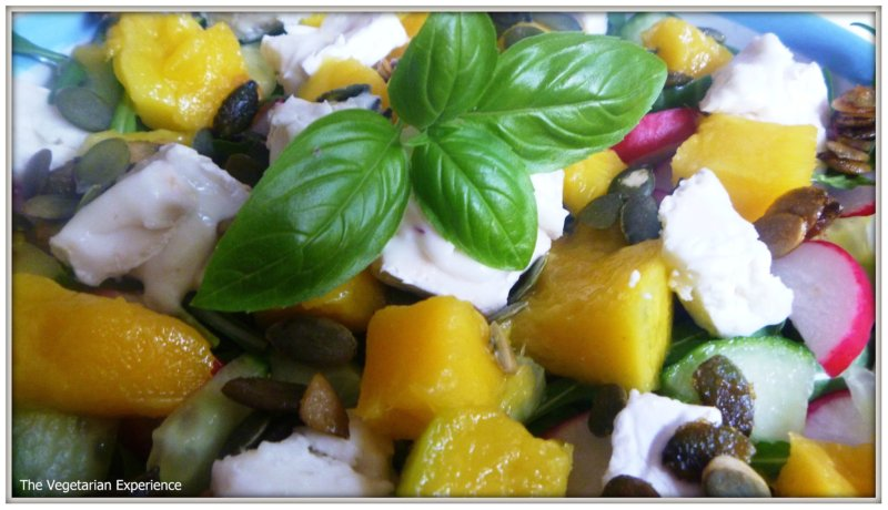 ... mango then there is a great one on youtube goats cheese mango salad