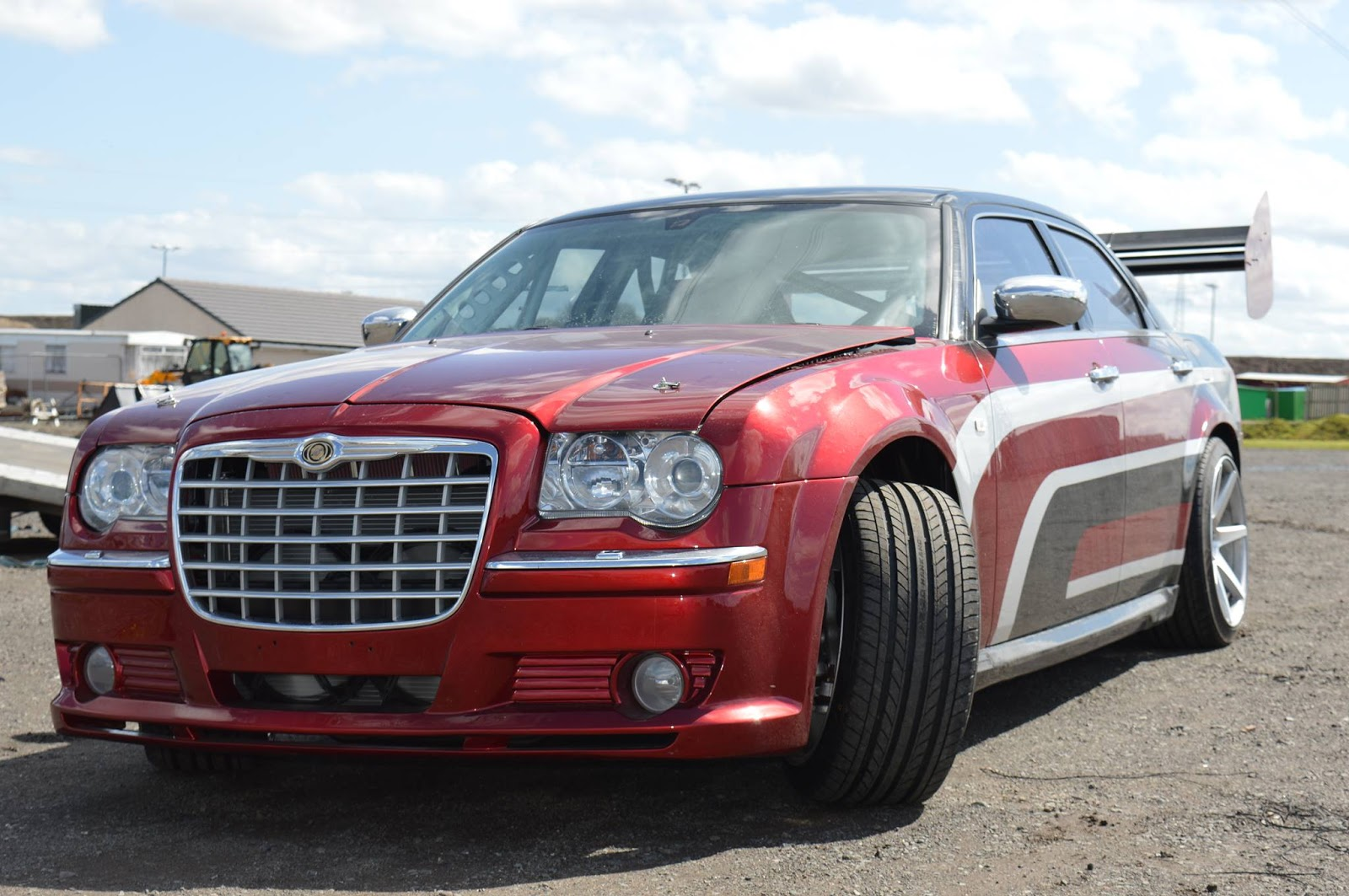 viper powered chrysler  drifter  certifiably nuts wvideo carscoops