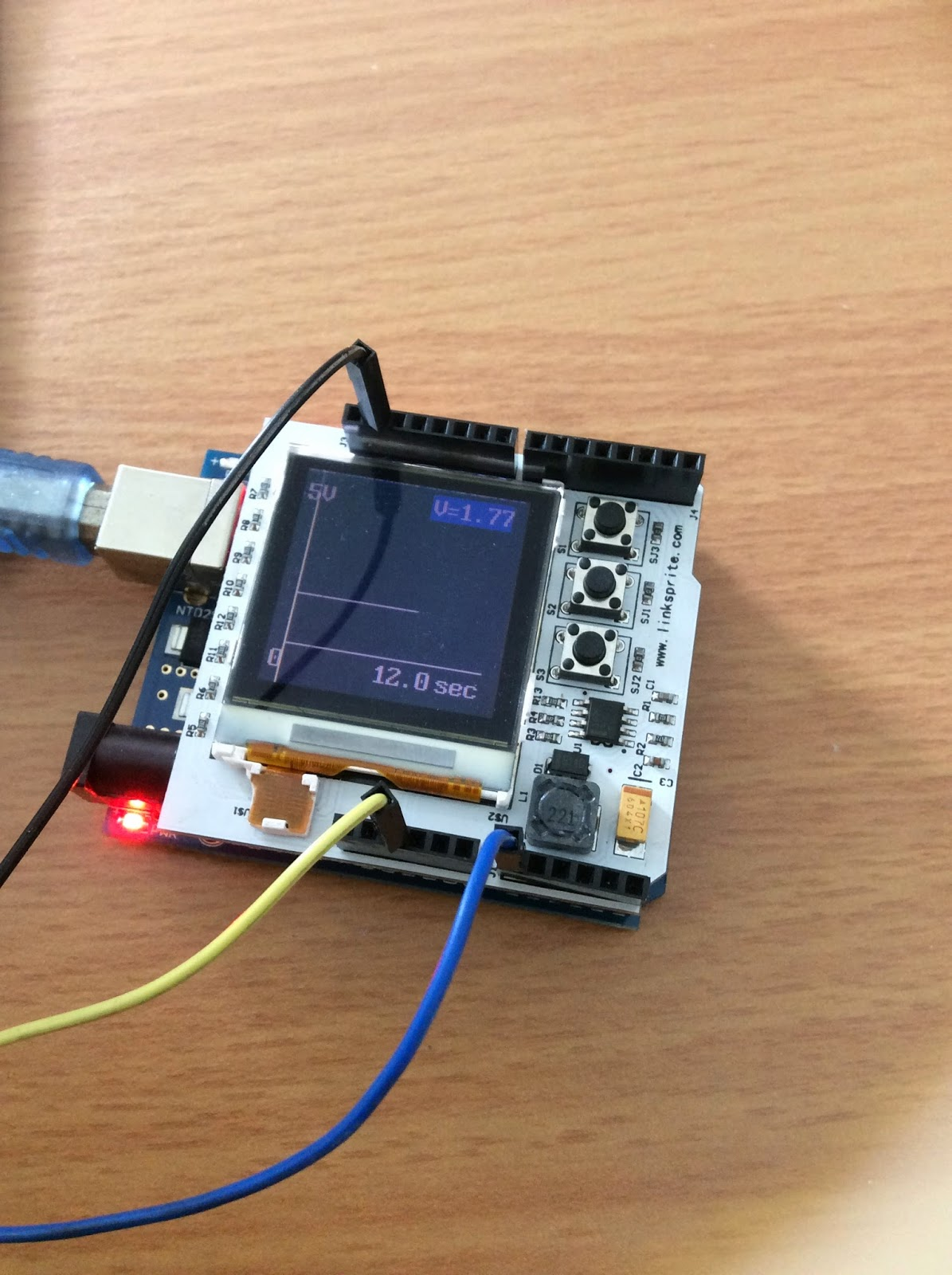 Project oscilloscope arduino รับทำโปรเจค ทำ hardware