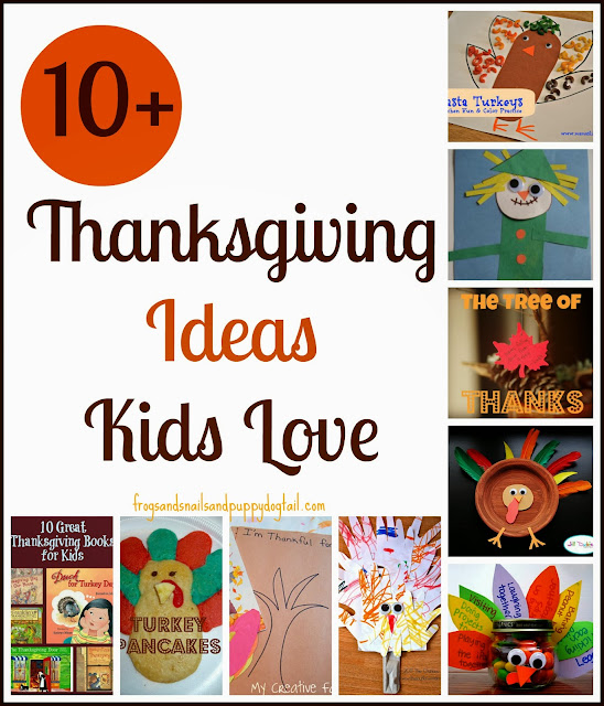 10+ Thanksgiving Ideas Kids Love by FSPDT