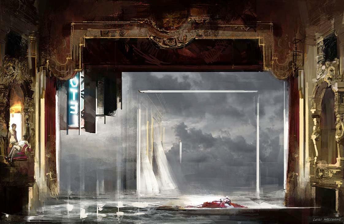 Molto LUIGI MARCHIONE : Stage Designer MX36