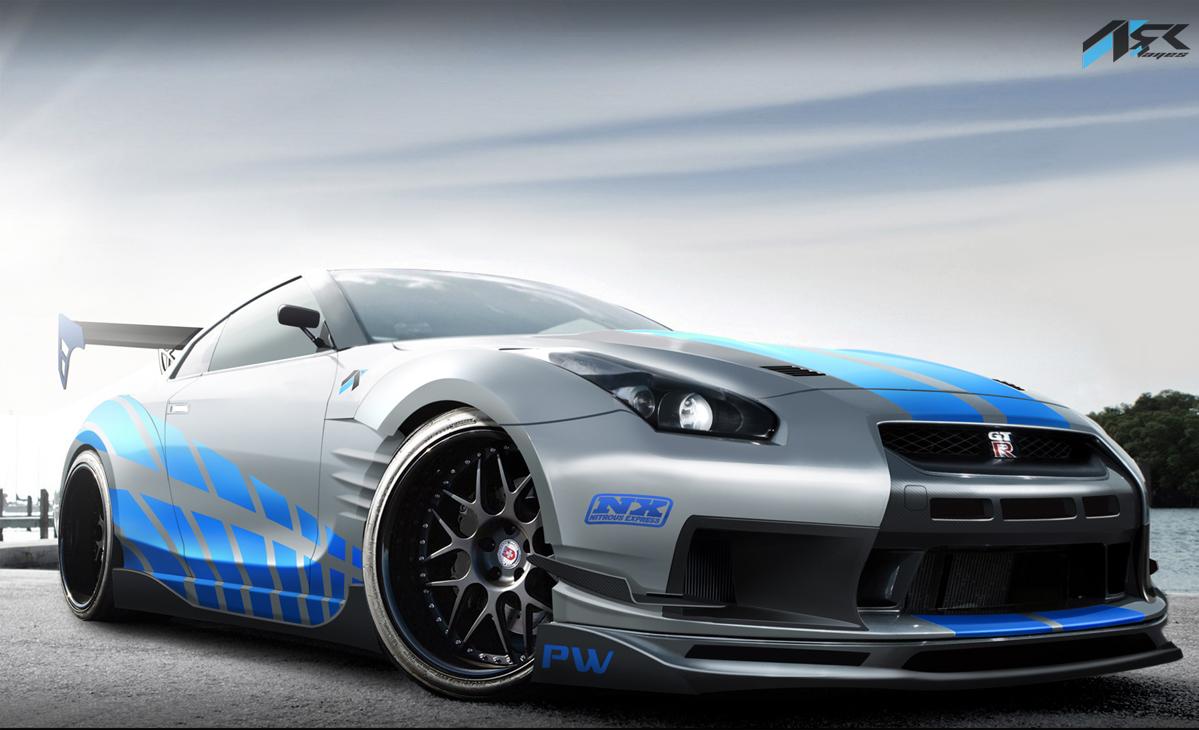 Virtual Tuning Studio, by Ark Llanes: Nissan GT-R R35 ...
