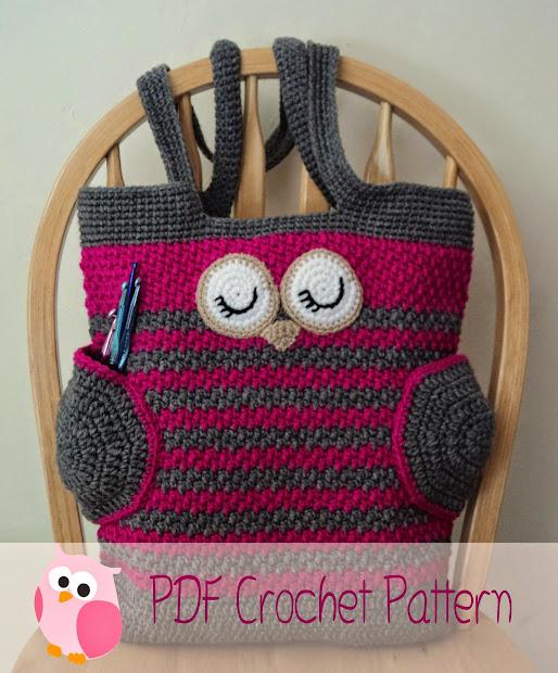 Free Crochet Owl Purse Pattern Vtwctr