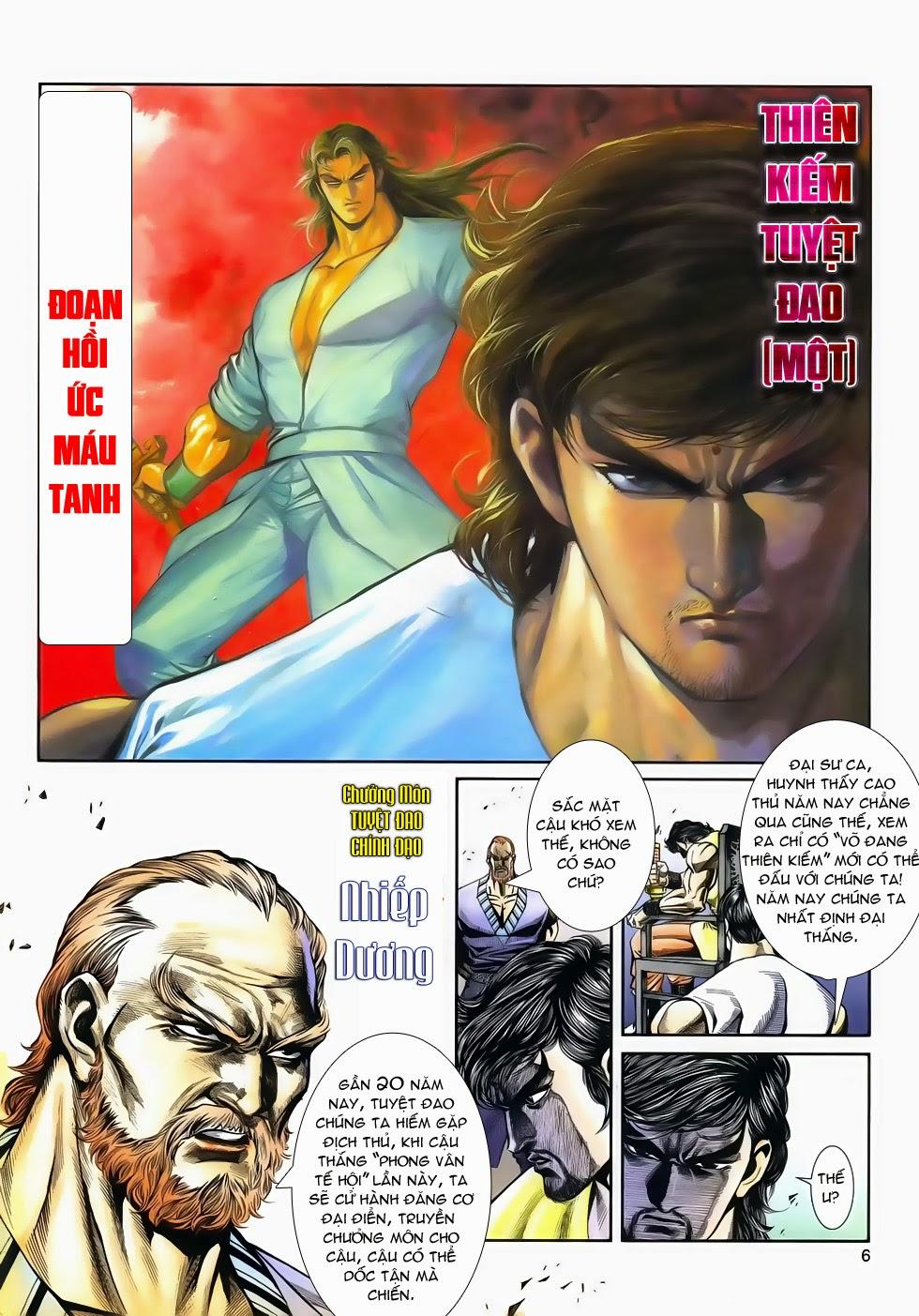 Long Hổ Phong Bạo chap 4 - Trang 5