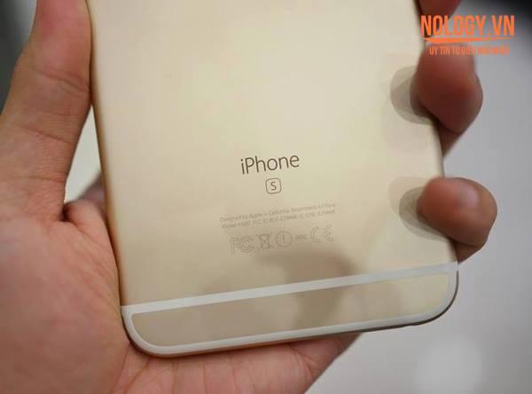 Chữ S trên Iphone 6s Nhật