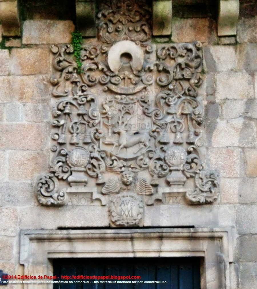 Heraldic Shield on the Episcopal Palace