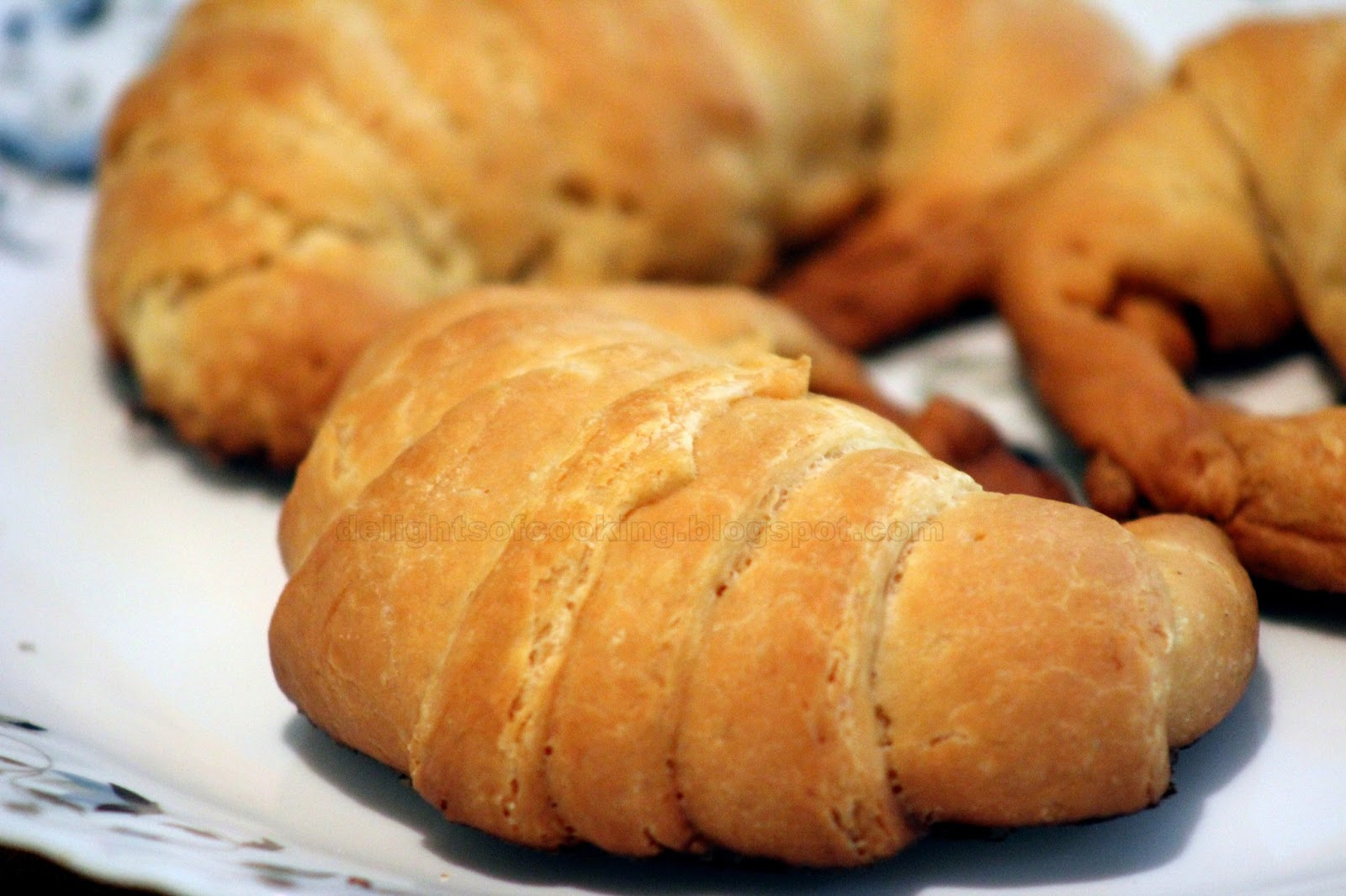 Flaky Croissants Recipe — Dishmaps