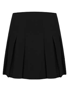 black skirt topshop