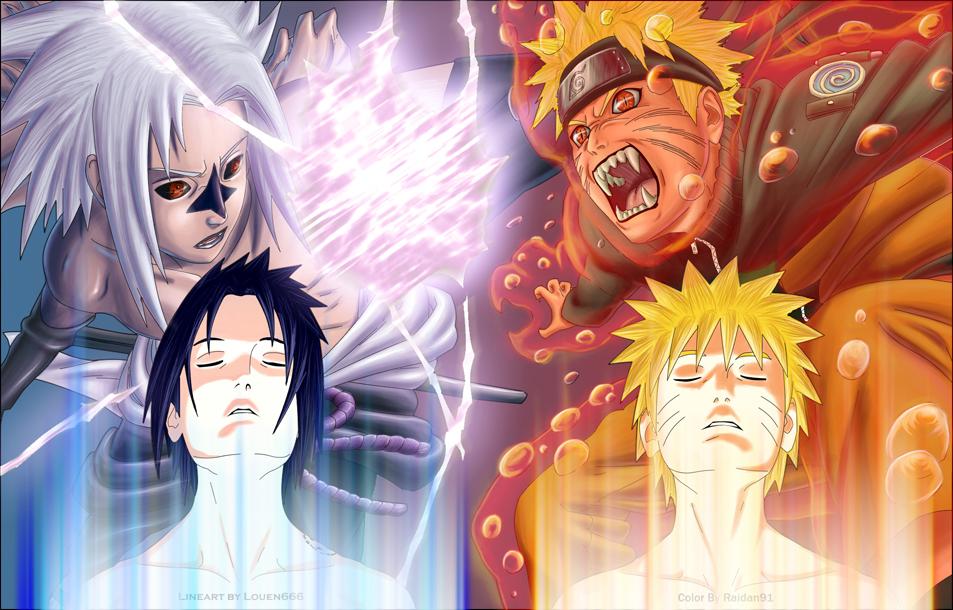 DBZ o Naruto (La humilde opinion de usuario