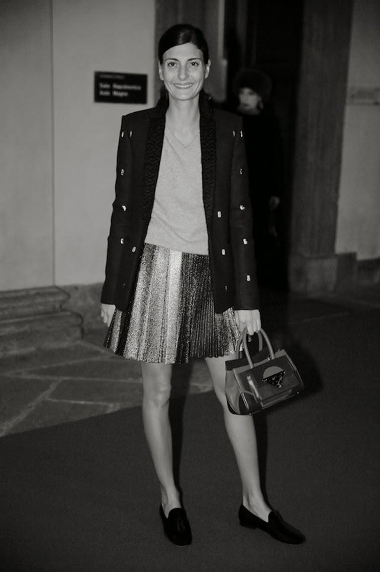 Giovanna Battaglia street style, PFW, Paris fashion week