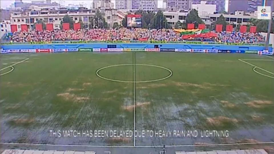 match delay Malaysia Vs Myanmar Piala AFF Suzuki 2014