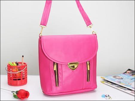 jual tas selempang bisa jadi ransel wanita korea murah pink
