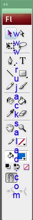 Tool Bar - Adobe Flash CS3