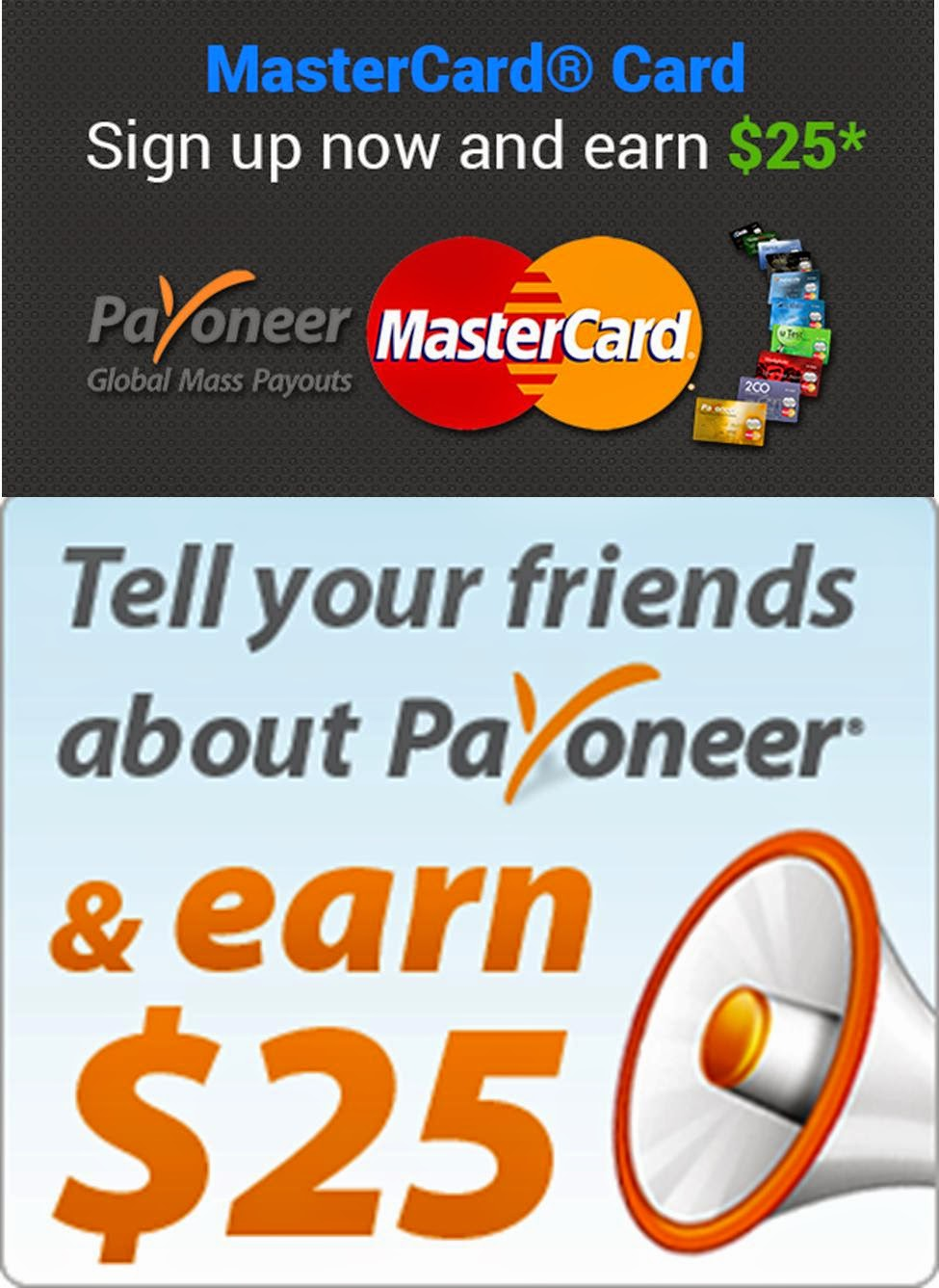 Signup with Payoneer